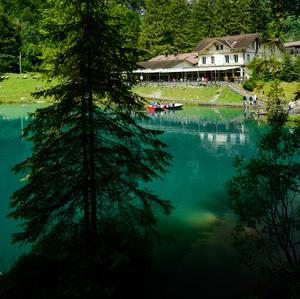 modré jazero