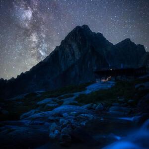 Noc na horách