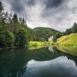 Rybník v Stratenej