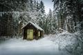 Zimná chatka