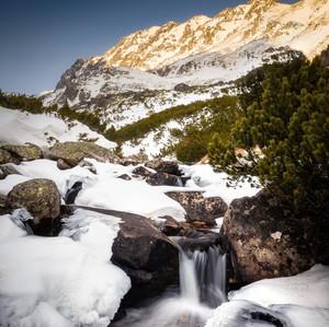 Zima v Tatrách