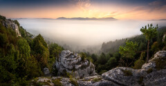 Ráno na skalách