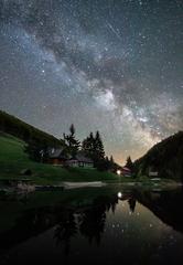 Chladná noc pod hviezdami :)
