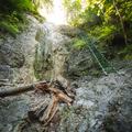 Kláštorská roklina, Dúhový vodopád