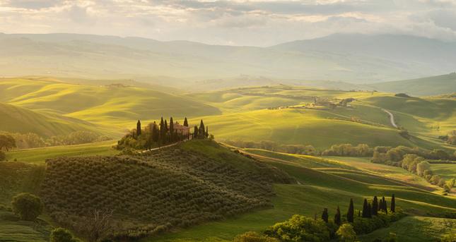Romanticke Toskansko
