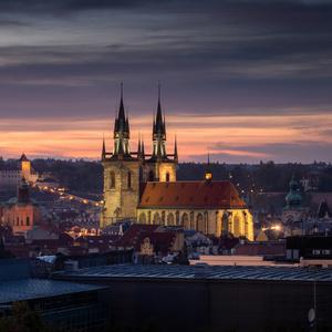 Podvecerna Praha