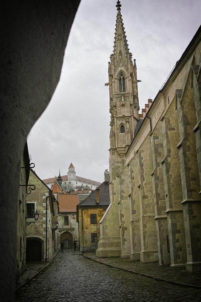 kostol Klarisky