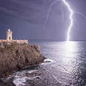 Búrka v Toskánsku
