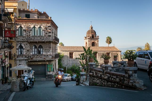 Podvečer v Taormine