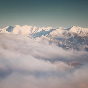 Západné Tatry z Veľkého Choča