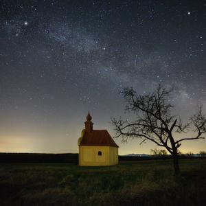 Jasná noc na Záhorí