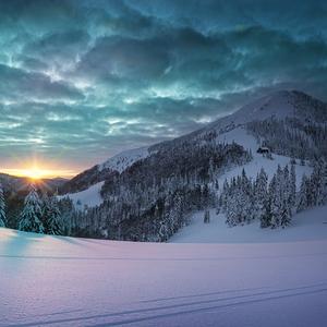 Západ slnka Borišov