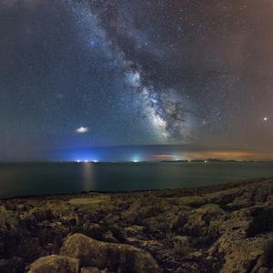 Hvězdy na Korčule