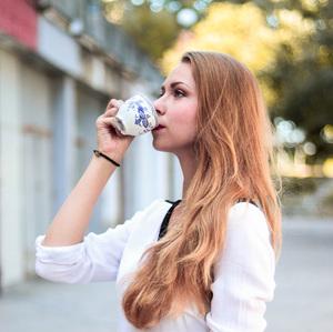Sladká šálka kávy