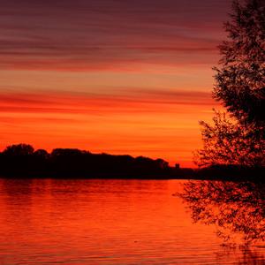 Duansjký západ slnka