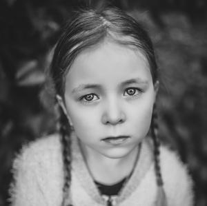 Smutné dievčatko