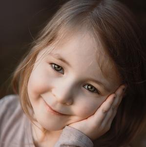 Úsmev dievčatka