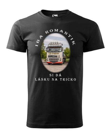 Iba romantik si dá lásku na tričko 15€