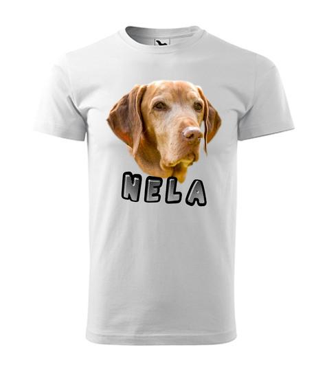 Tričko s Vaším motívom Nela 12€