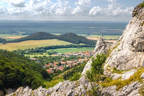 Pohľad z Hromovej skaly