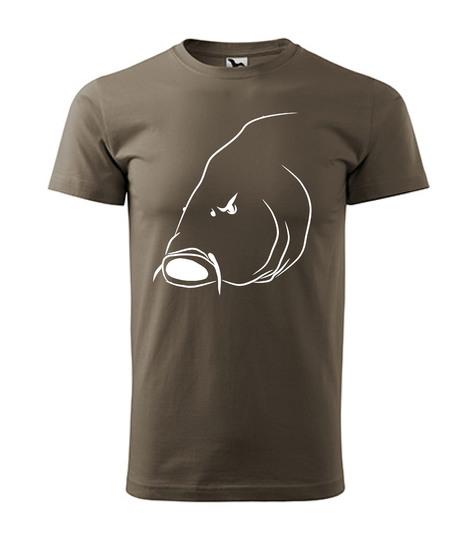 Tričko s rybárskym motívom 15€