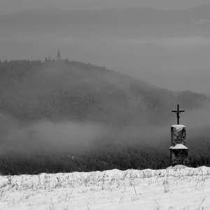 pohľad na Mariánsku horu