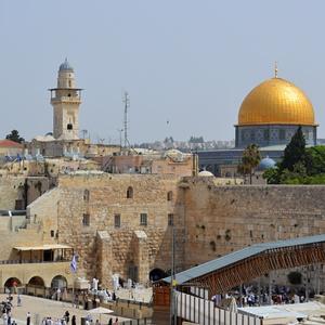 Múr nárekov a Zlatá mešita