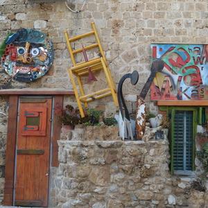 Umenie v uliciach Akko