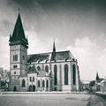 Bazilika sv.Egídia v Bardejove dostavaná v roku 1494