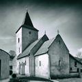 Neskororománsky jednoloďový kostolík sv.Kataríny Alexandrijskej