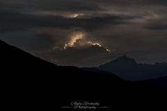 Blesky nad Alpami