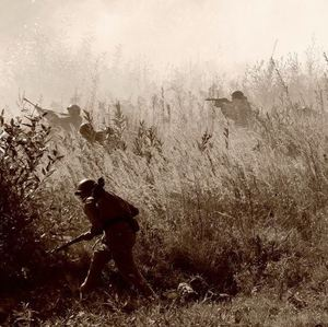 rekonstrukcia bojov Karpaty1944