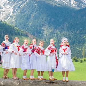 Goralska svadba - Dámy