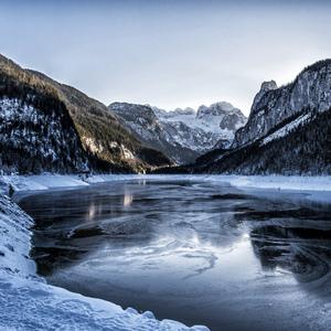 Zima na jazere