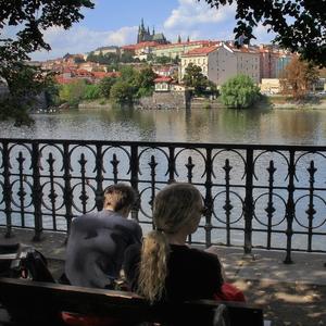 Vltava a hrad