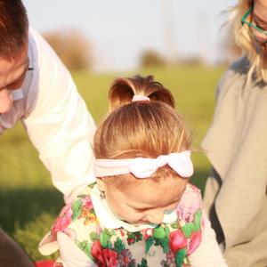 Malá Emka s rodičmi