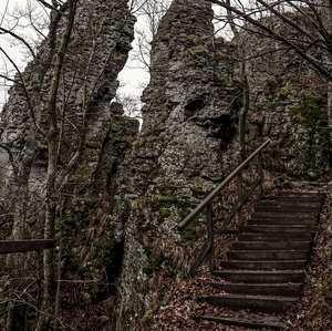 Schody na hrad
