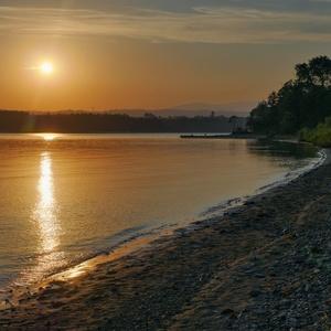 Západ slnka na Hámroch
