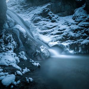 Králiky vodopád