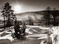 Zimné ráno na Orave