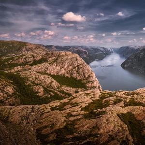 Lysefjord Nórsko