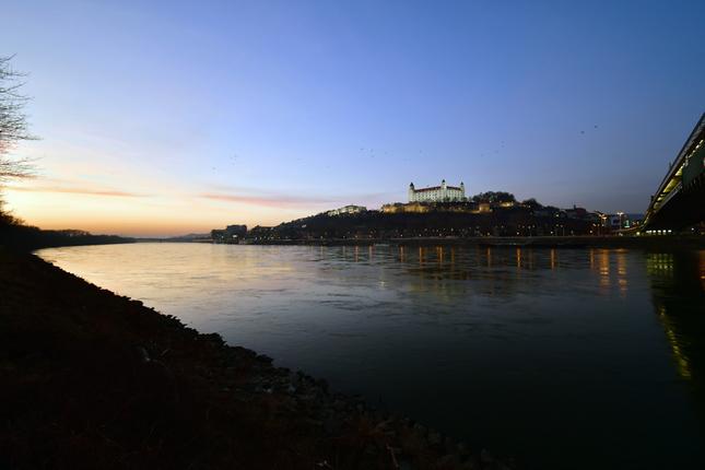 Na brehu Dunaja :D