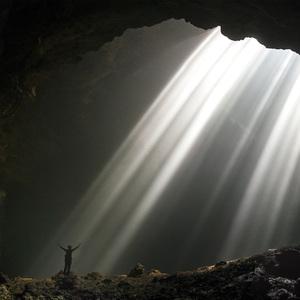 Ráno v jaskyni