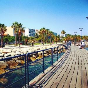 Cyprus promenade