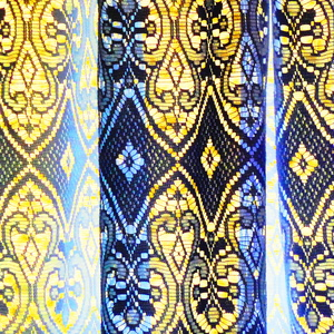 záclona a svetlo