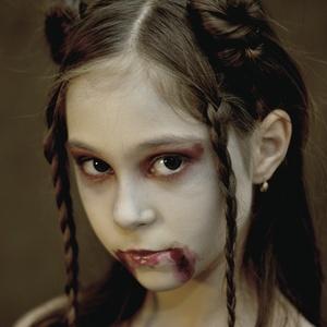 Halloween portrét