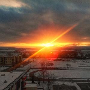 Zimný prierez slnka