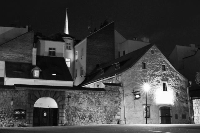 Noční Plzeň