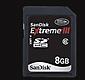 8-GB SanDisk Extreme III SDHC