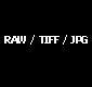 RAW, TIFF, JPG